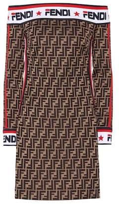 Fendi MANIA jersey dress