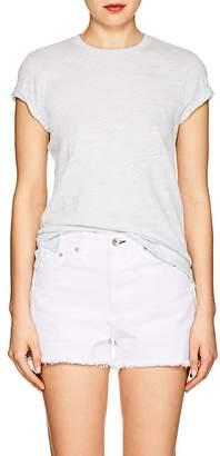 "ATM Anthony Thomas Melillo Women's ""Schoolboy"" Slub Cotton T-Shirt"