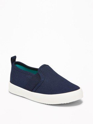 Old Navy Canvas Slip-Ons for Toddler Boys