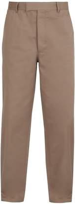 Prada Cotton-twill trousers