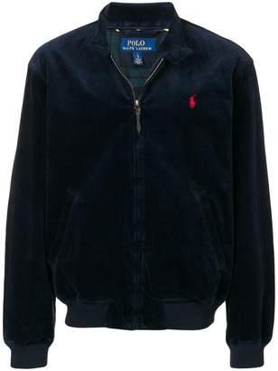 Polo Ralph Lauren band collar corded jacket