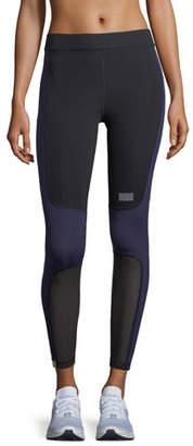 Monreal London Sprinter Full-Length Colorblocked Leggings with Mesh