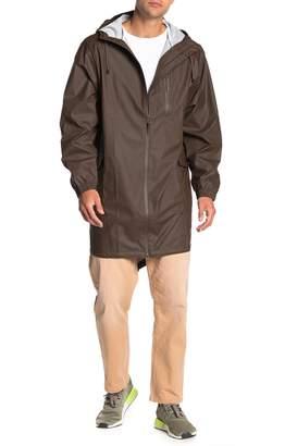 Rains Waterproof Hooded Jacket