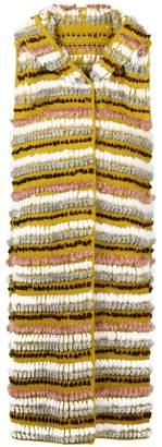 Liska textured stripe vest