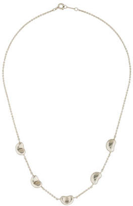 Tiffany & Co. Bean Station Necklace $225 thestylecure.com