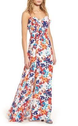 Women's Parker Bellaire Maxi Dress $378 thestylecure.com