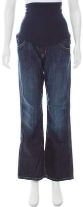Hudson Wide-Leg Maternity Jeans