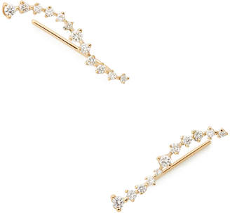 Swell Sophie Ratner Diamond Ear Climbers Earring