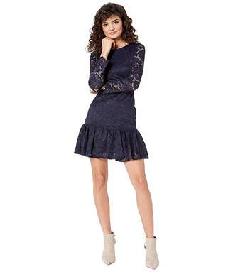 Bardot Rubi Long Sleeve Lace Dress