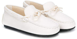 Tod's Kids embossed loafers