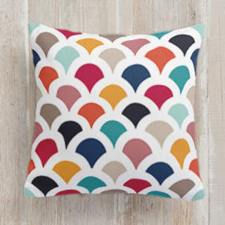Geometry in Colors 3 Square Pillow