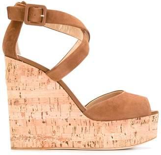 Giuseppe Zanotti Design platform wedge sandals