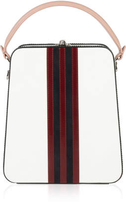 Bertoni1949 Thin Stripes Tall Bertoncina Bag