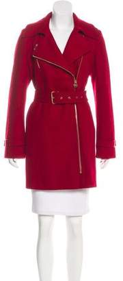Michael Kors Wool Knee-Length Coat