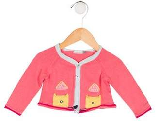 Catimini Girls' Embroidered Cardigan