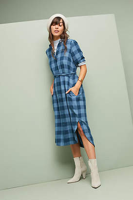 Trovata Birds of Paradis by Buffalo Plaid Shirtdress