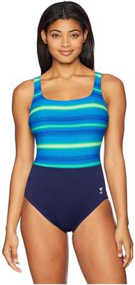 TYR Tramonto Scoop Neck Controlfit Women's Swimsuits One Piece
