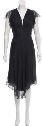 Mason Silk Maxi Dress