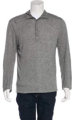 Maison Margiela Wool-Blend Polo Sweater