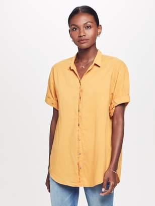 Xirena XiRENA Channing Cotton Poplin Shirt - Gold Amber