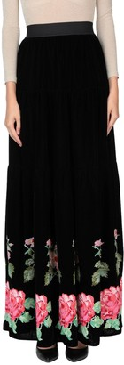 Black Coral Long skirts