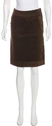 Missoni Knee-Length Corduroy Skirt