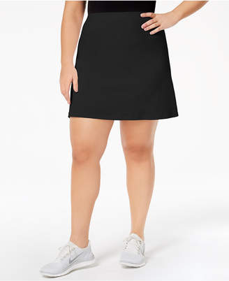 Ideology Plus Size Tennis Skort, Created for Macy's