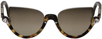 Fendi Tortoiseshell Blink Sunglasses $520 thestylecure.com