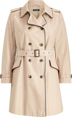 Ralph Lauren Cotton-Blend Trench Coat