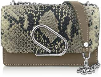 3.1 Phillip Lim Animal Printed Leather Alix Chain Clutch