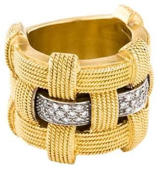 Roberto Coin 18K Diamond Magnifica Ring