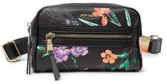 Betsey Johnson Floral Print Belt Bag