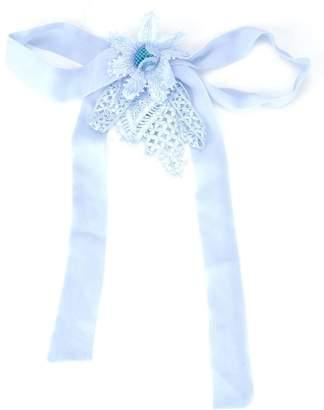 Martha Medeiros embellished brooch