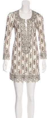 Isabel Marant Embellished Lace-Up Dress