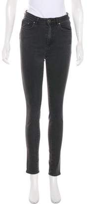 Acne Studios Mid-Rise Skinny Jeans