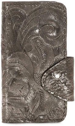 Patricia Nash Metallic Tooled Vietta Samsung 7 Case