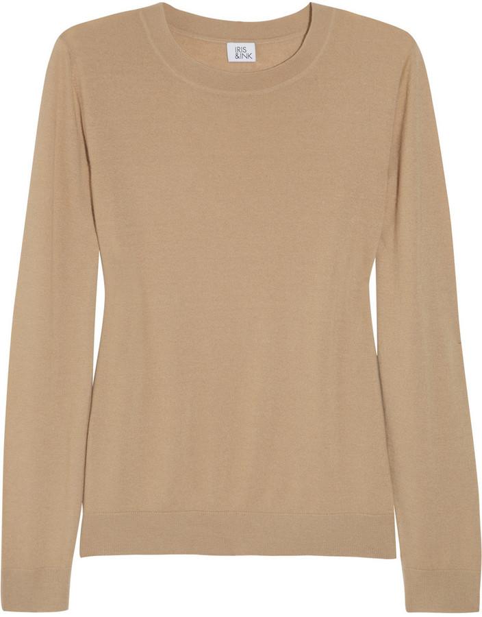 Iris & Ink Classic cashmere sweater