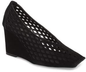 Jeffrey Campbell Vanira Perforated Wedge