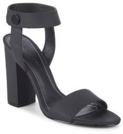 KENDALL + KYLIE Ankle-Strap Block Heel Sandals