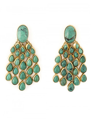 Aurelie Bidermann 'Cherokee' earrings $925 thestylecure.com