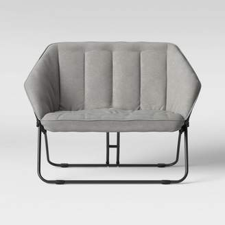 Room Essentials Double Hexagon Chair Gray