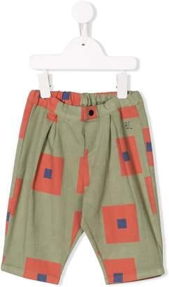 Bobo Choses square print track pants