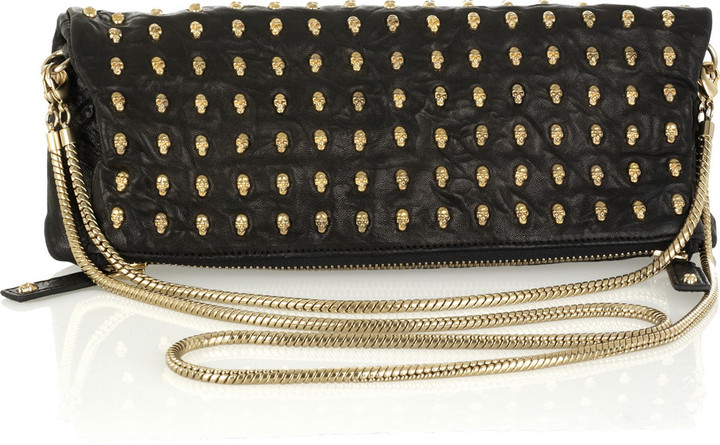 Thomas Wylde Day Of The Dead studded clutch
