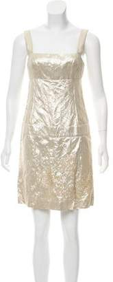 Pollini Embellished Mini Dress