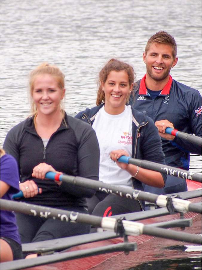 VIP Rowing Experience With GB Rowers And Q&A With London 2012 Gold Medallist In Henley On Thames, Berkshire
