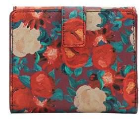 Violeta BY MANGO Floral-print wallet