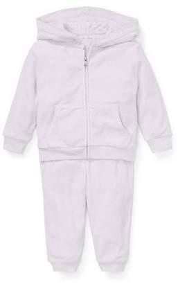 Ralph Lauren Zip-Up Hoodie w/ Matching Sweatpants, Size 6-24 Months