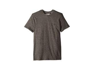 Original Penguin Short Sleeve All Over Jacquard Jasper Stripe T-Shirt