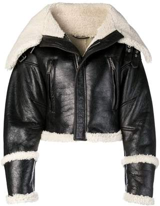 DSQUARED2 oversized biker jacket
