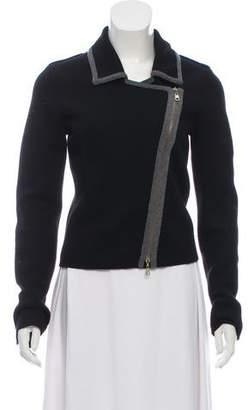 HUGO BOSS Boss by Knit Zip-Up Jacket